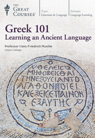Video – TGC – Greek 101 Learning an Ancient Language            # 1200
