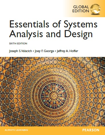 Essentials Of Systems Analysis And Design Pearson