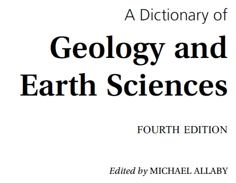 Geological Dictionary Pdf